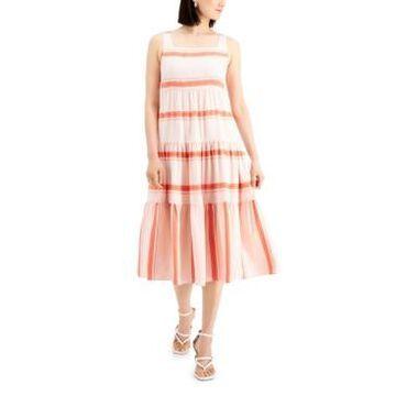 Taylor Petite Tiered Midi Dress