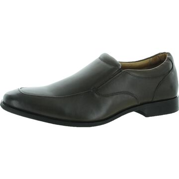 Vionic Spruce Sullivan Men's Leather Slip On Loafer Dress Shoes - Taupe