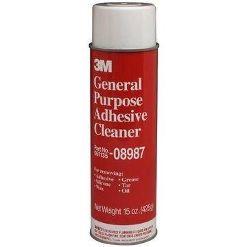 3M 08987 General Purpose Adhesive Cleaner, 15 oz net wt, 12 PACK