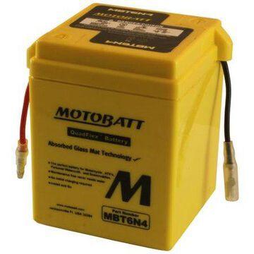 DB Electrical MBT6N4 Battery for Motobatt 4AH,Yahama, Honda,Kawasaki, Suzuki