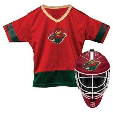 Franklin Sports NHL Minnesota Wild Youth Team Uniform Set