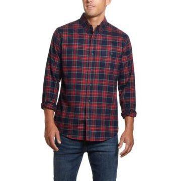 Weatherproof Vintage Men's Tartan Plaid Flannel Shirt