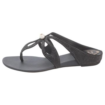 Rene Caovilla \N Black Leather Sandals