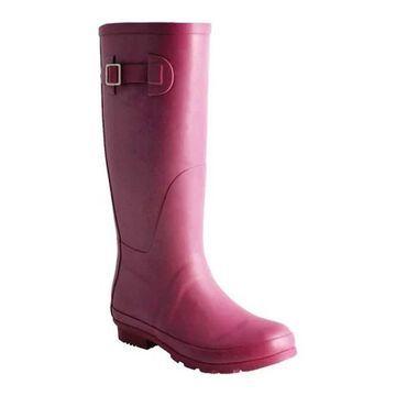 Nomad Women's Hurricane III Rain Boot Matte Berry