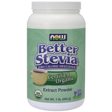 Stevia Extract Powder-White Now Foods 1 lbs Powder