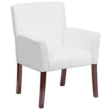 Flash Furniture Reception Chair in White