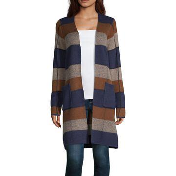 Alyx Womens Long Sleeve Striped Cardigan