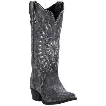 Laredo Leather Cowboy Boots - Starburst