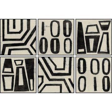 Marmont Hill - Handmade Symbols Hexaptych