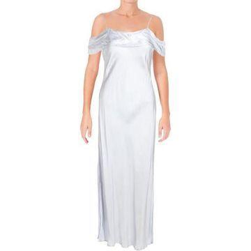 Bardot Womens Cold Shoulder Midi Slip Dress