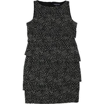 American Living Womens Tiered A-line Dress