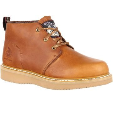 Georgia Boot Wedge Chukka Composite Toe Work Boot, #GB00257