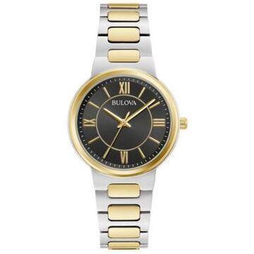 Bulova Women's Two-Tone Stainless Steel Bracelet Watch 32mm