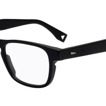 Fendi FF M0016 284 Men's Glasses Black Size 51 - Free Lenses - HSA/FSA Insurance - Blue Light Block Available