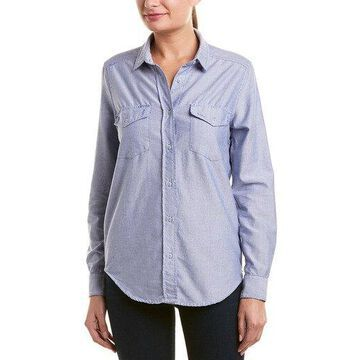 The Kooples Womens Sport Chambray Top