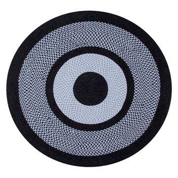Better Trends Portland Wool Braid Rug, Navy, 66