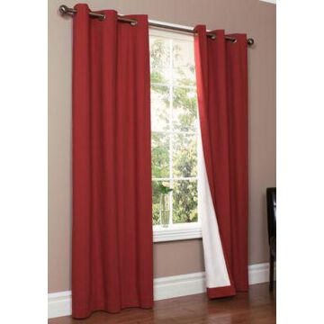 Commonwealth Home Fashions Weathermate Grommet Window Panels -