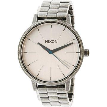 Nixon Women's Kensington A0992701 Silver Stainless-Steel Japanese Quartz Fashion Watch