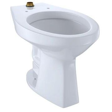 Toto CT705ULN Commercial Elongated Toilet Bowl Only - Cotton