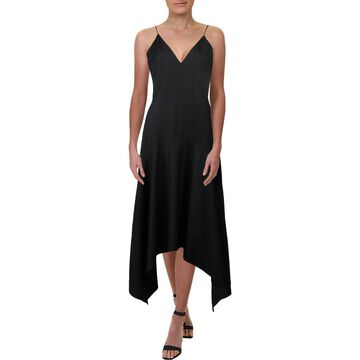 Keepsake Womens V-Neck Cocktail Midi Dress