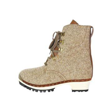 Vivienne Westwood Beige Leather Boots