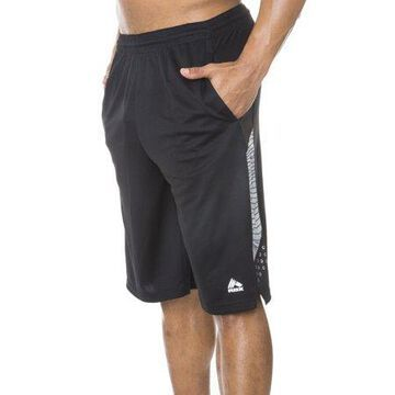 RBX Men's 12 Poly Novelty Mesh Basketball Shorts