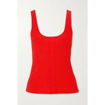 Altuzarra - Yanaka Ribbed-knit Tank - Red