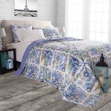Somerset Home 3pc Melody Quilt Set