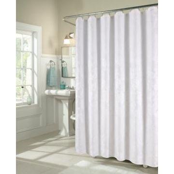 Ellen Tracy Floral Matelasse Shower Curtain Bedding