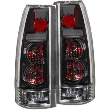 ANZO USA 211144 88-00 CHEV CK - FULL SIZE TAIL LIGHTS BLACK CLEAR - NEW GENERATION