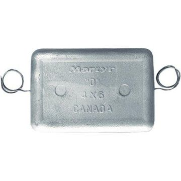 Martyr CMPPW Zinc Hull Anode, 5