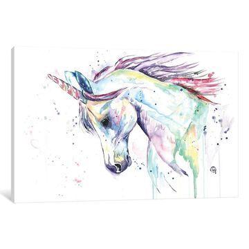 iCanvas ''Kenzie's Unicorn'' by Lisa Whitehouse
