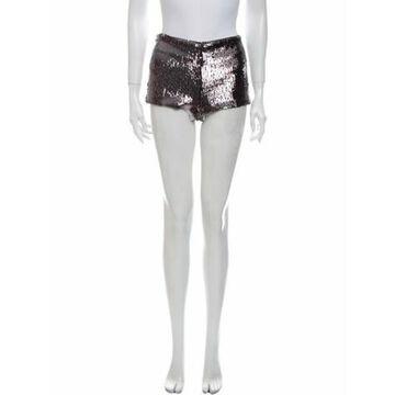 Mini Shorts w/ Tags Metallic