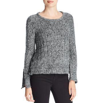 Three Dots Womens Wool Marled Sweater