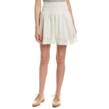 The Kooples Womens Smocked Skirt