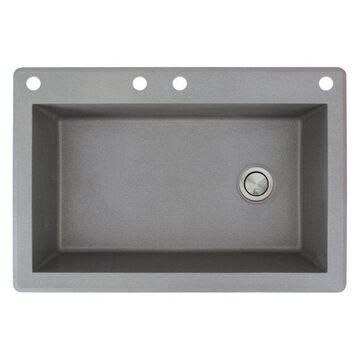 Transolid, Kitchen Sink, Gray, 22