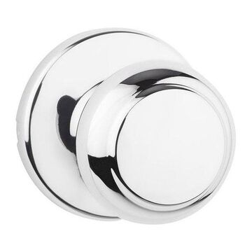Kwikset 200CV Passage Function Cove Knobset, Polished Chrome