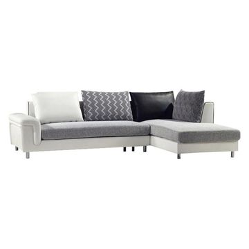 Furniture of America Shelton Sectional with Chaise