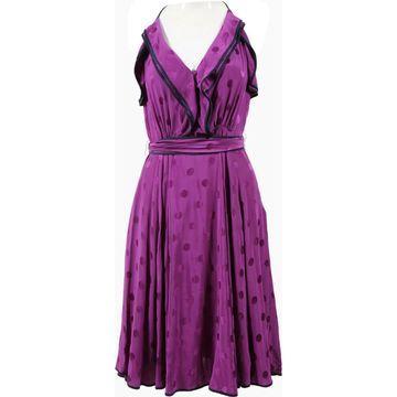 Derek Lam Purple Silk Dresses