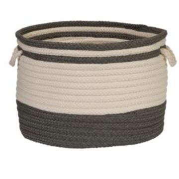 Colonial Mills Bar Harbour Braided Storage Basket