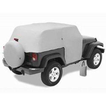 Bestop 81040-09 Jeep Wrangler 2-Door, All Weather Trail Cover, Charcoal