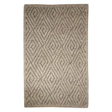 Jaipur Living Kohinoor Handmade Geometric Gray/Cream Area Rug, 5'x8'
