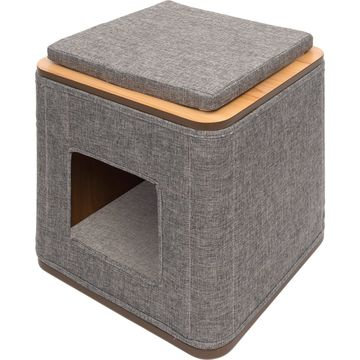 Vesper Cubo Cat Cube, Grey