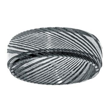 Men's LYNX Damascus Steel Ion Plated Ring