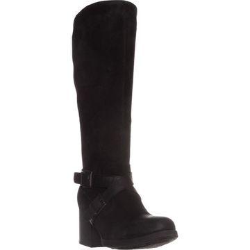 Born Womens dakota Leather Closed Toe Knee High Fashion Boots