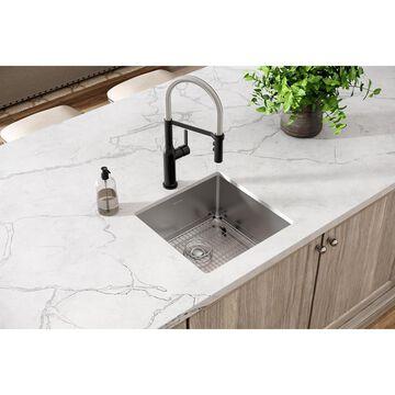 Elkay Crosstown Stainless Steel Undermount Single Bowl 18.5 x 18.5 Kitchen Sink   ECTRU17179TC