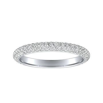 Auriya 1/2ctw Diamond Wedding Band 18k Gold