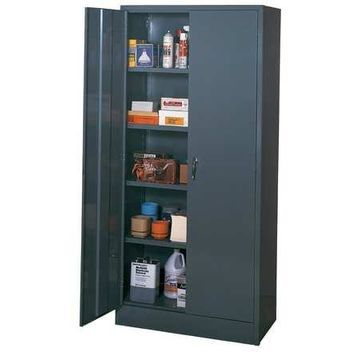EDSAL 3001 Storage Cabinet,Gray,78 In. H,36 In. W