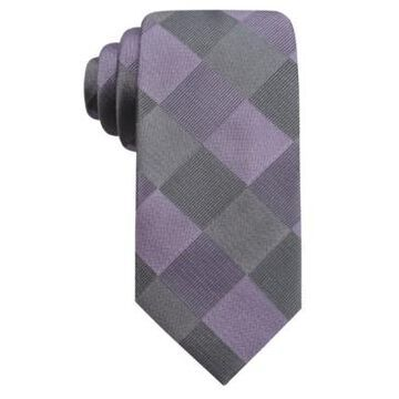 Ryan Seacrest Distinction Men's Concord Slim Check Tie, Created For Macy's