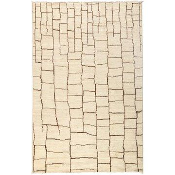 Solo Rugs One-of-a-kind Moroccan Hand-knotted Area Rug 5' x 8'